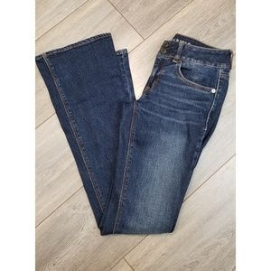 """American Eagle """"Artist"""" Flare Jeans Size 0"""